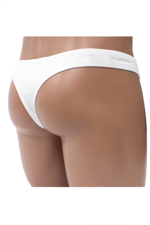 Men's Cotton Pouch Thong by Lobbo ® - White