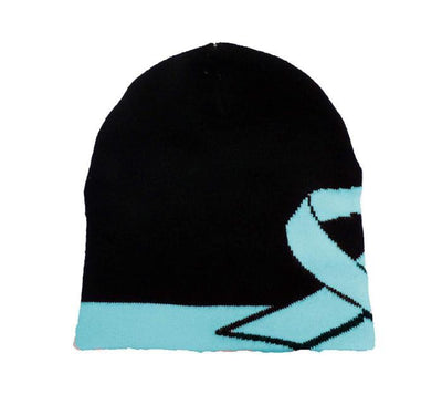 Prostate Cancer Awareness Beanie Skullcap Hat, Run or Walk Cap