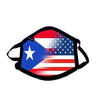 Love your Country! New Custom DUAL Flag Adult Mask