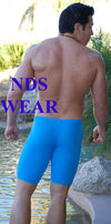 NDS Solid Racing Blue Mens Jammer -Clearance