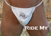 Ride My Sled Men's G-String