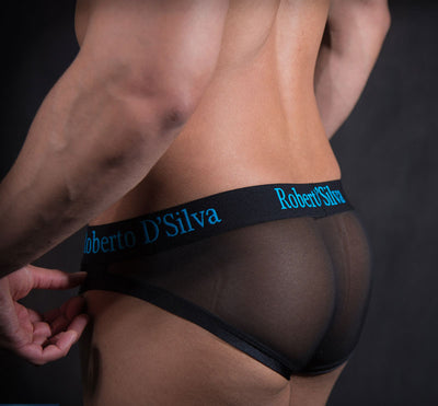 Designer Roberto D'Silva Features Juan Pablo Brief