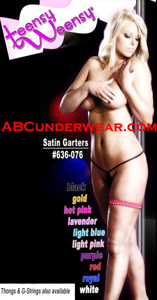 Satin Garter - One Size