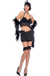 Sexy Flapper Girl Costume - Closeout