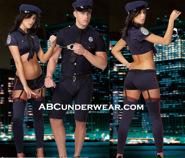 Sexy Police Woman Halloween Costume