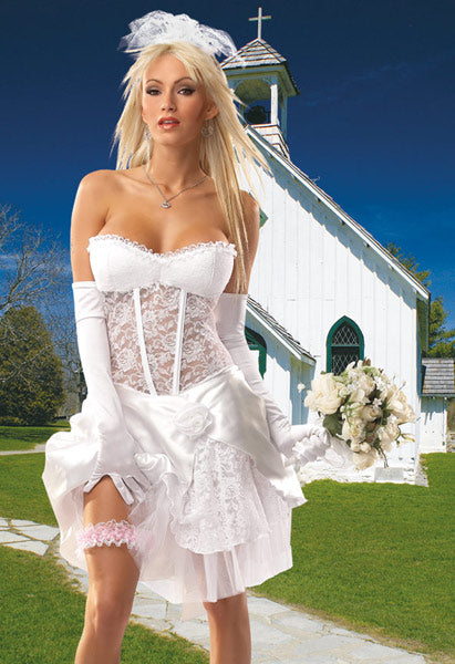 Sexy Bride Costume - Clearance