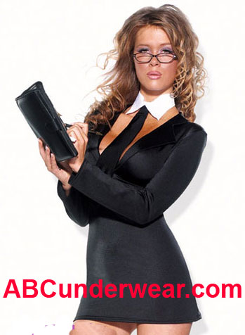 Sexy Office Girl Costume - Clearance