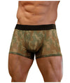 Sheer Green Camo Pouch Trunk Underwear