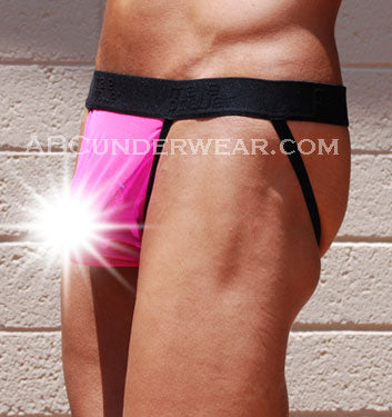 Mens Sheer Neon Jockstrap - Closeout