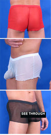 Minee Sheer Pouch Boxer