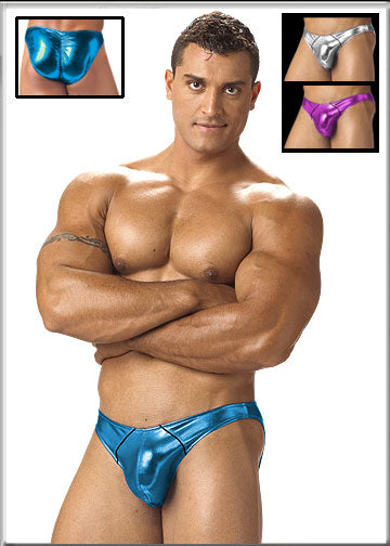 Mens Shimmer Brief by California Muscle - Clearance