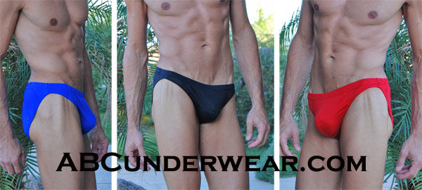 Men's Silk Bikini Underwear