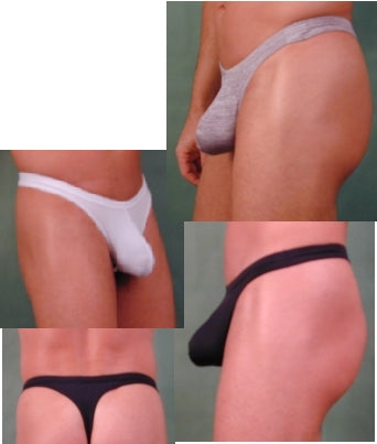Microfiber Thong with C-ring CLOSEOUT