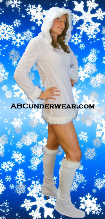 Snow Bunny Costume - Clearance