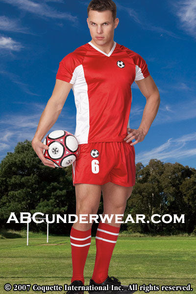 Male Soccer Player Costume