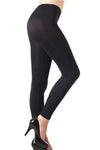 Solid Black Seamless  Leggings
