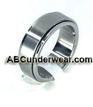 Solid Stainless Steel Center Rotating Ring
