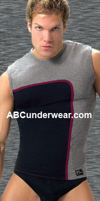 Spandex & Microfiber Muscle Top - Clearance