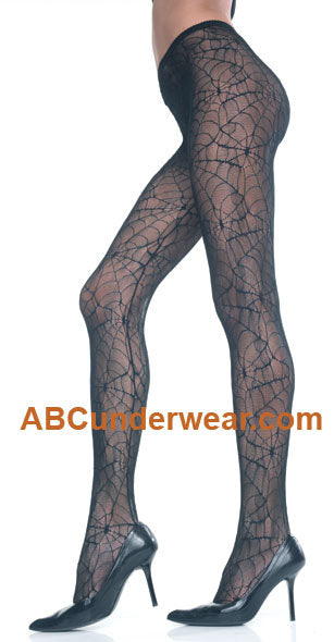 Womens Spiderweb Pantyhose