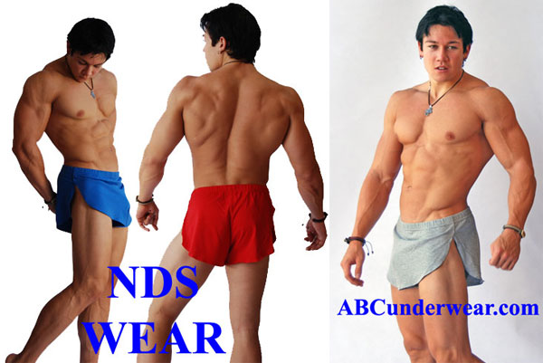 Men's Sexy Side Split Short by NDS WEAR