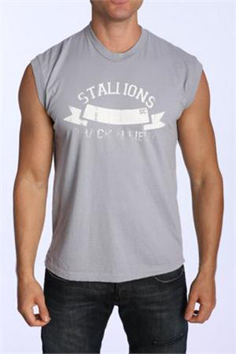 LASC Stallions Track & Field Mens Sleeveless Tee