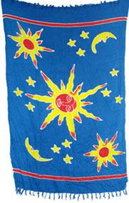Stars and Moons Sarong