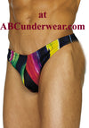 Rainbow Streak Men's Thong