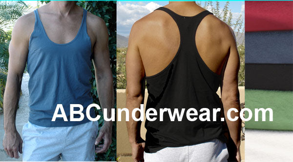 Men's String Y-Back Tank