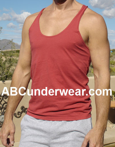 Men's Sexy String Y-Back Tank