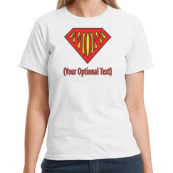 Super Mom Mother's Day Shirt For Women
