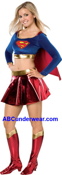 Sexy Supergirl Teen Costume