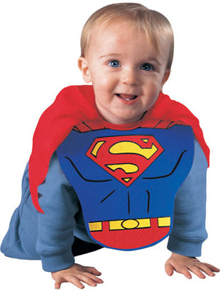 Superman Bib and Cape Set