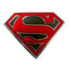 Superman Belt Buckle - Red and Black