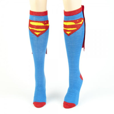 Superman Cape Socks - Superhero Cape Socks