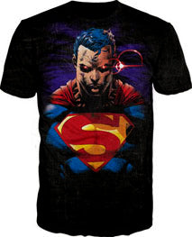 Superman Red Eyes Shirt