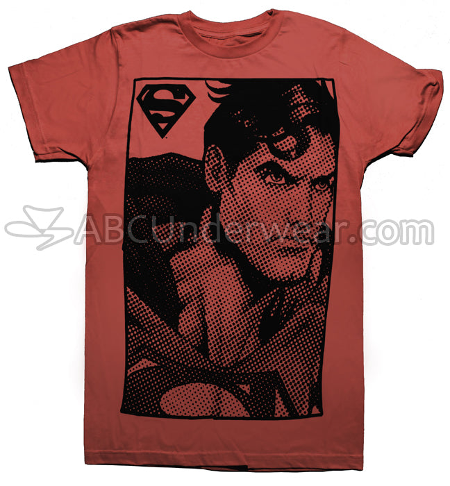 Superman Dot Art Retro Comic T-Shirt