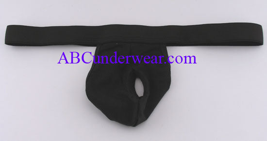 Open Suspensory Thong for Men, G-string with a Front Hole