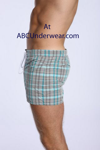 LASC Gray Swim Shorts