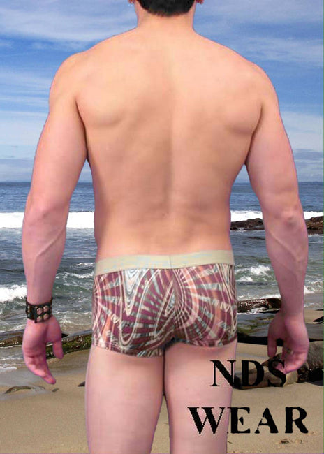 NDS Wear Art Deco Sexy Mens Short