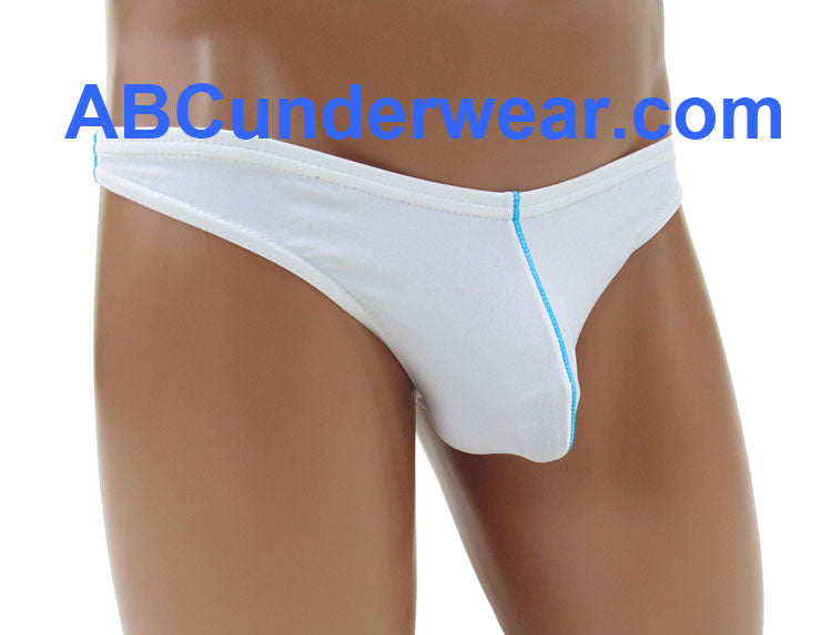 Men's Thong Underwear/Swimsuit Contrast