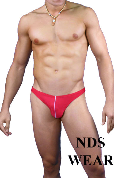 Men's Thong Underwear Swimsuit Contrast for Men