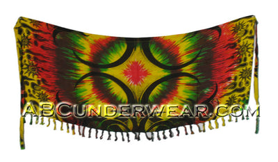 Small Tie Dye Celtic Sarong