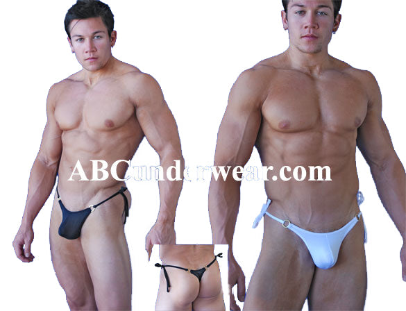 Sexy Tieside Ring Thong for Men