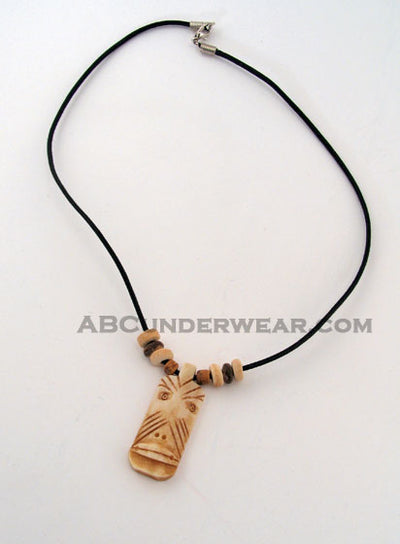 Tiki & Coco Bead Cord Necklace