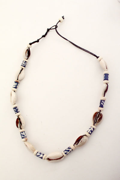 Coastal Village Cowrie Necklaces