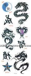 Tribal Tattoos Dragons