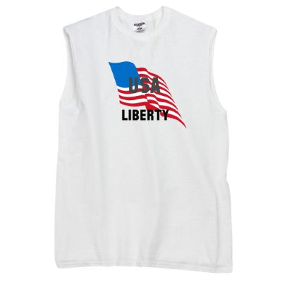 Mens USA Liberty Muscle Shirt