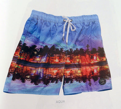 Vacation Island Retreat Mens Short