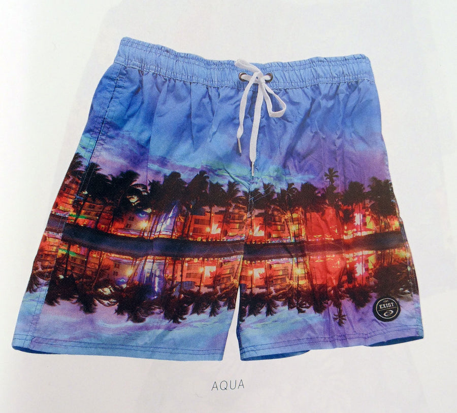 Vacation Island Retreat Mens Swim Short