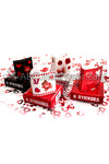 Valentines Day Stickers 4 Pack